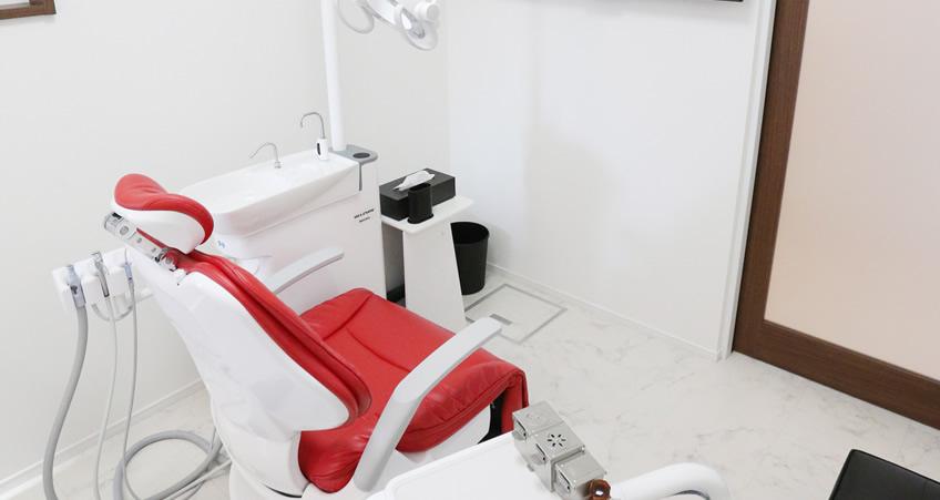 診療室と治療機器